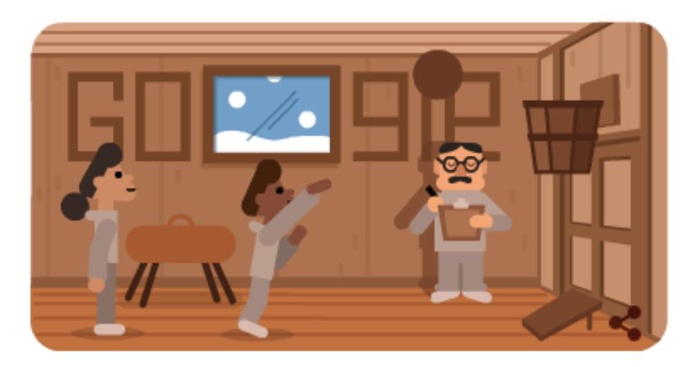 Google celebra James Naismith doodle