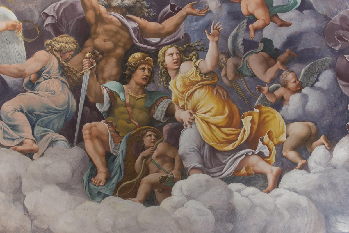 Venere Divina Giulio Romano