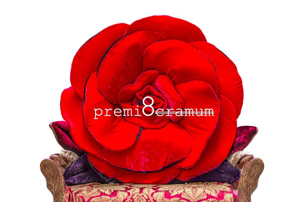 Premio Cramum, ottava edizione, cuscino forma di rosa di Carla Tolomeo