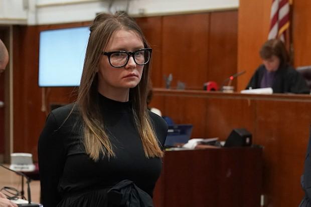 Inventing Anna durante il processo