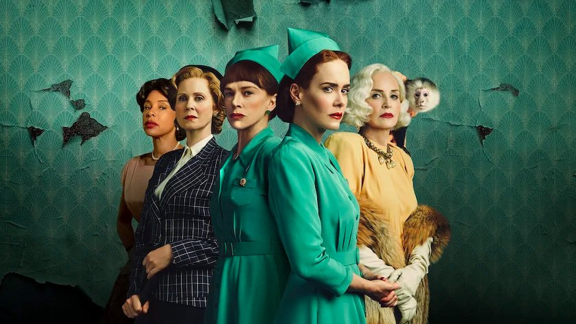 il cast femminile della serie tv