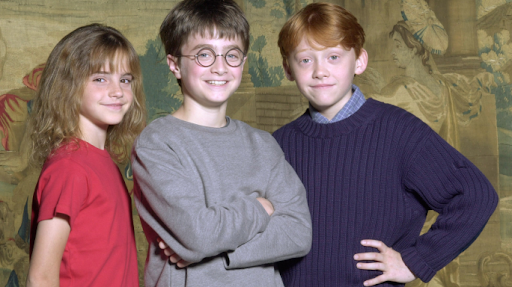 Rupert Grint Harry Potter il cast