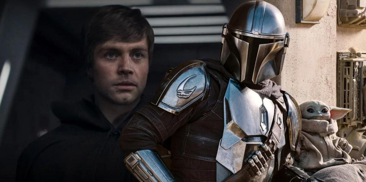 The Mandalorian e Luke Skywalker