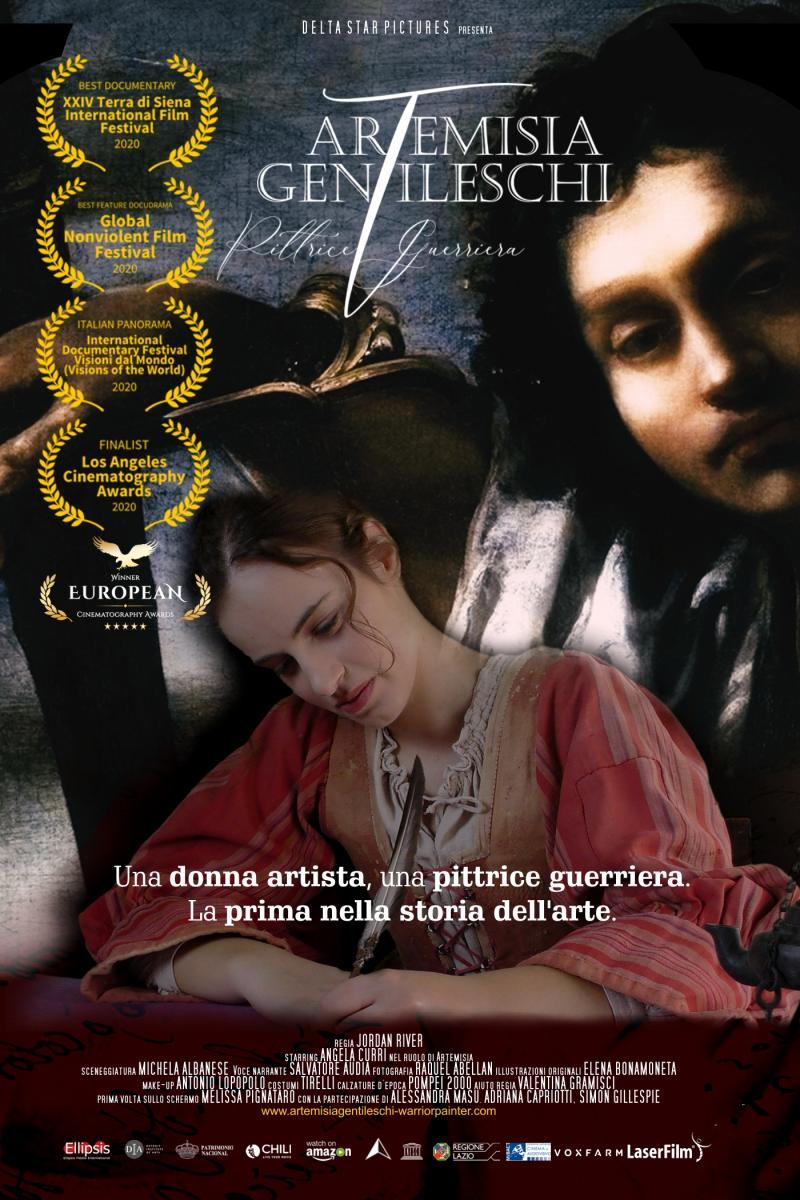 Artemisia Gentileschi locandina film