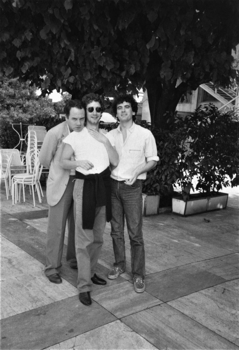 Carlo Verdone con amici