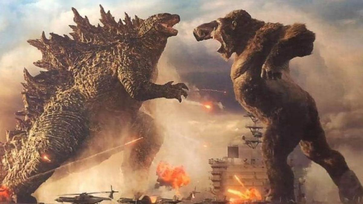 Godzilla vs Kong lotta