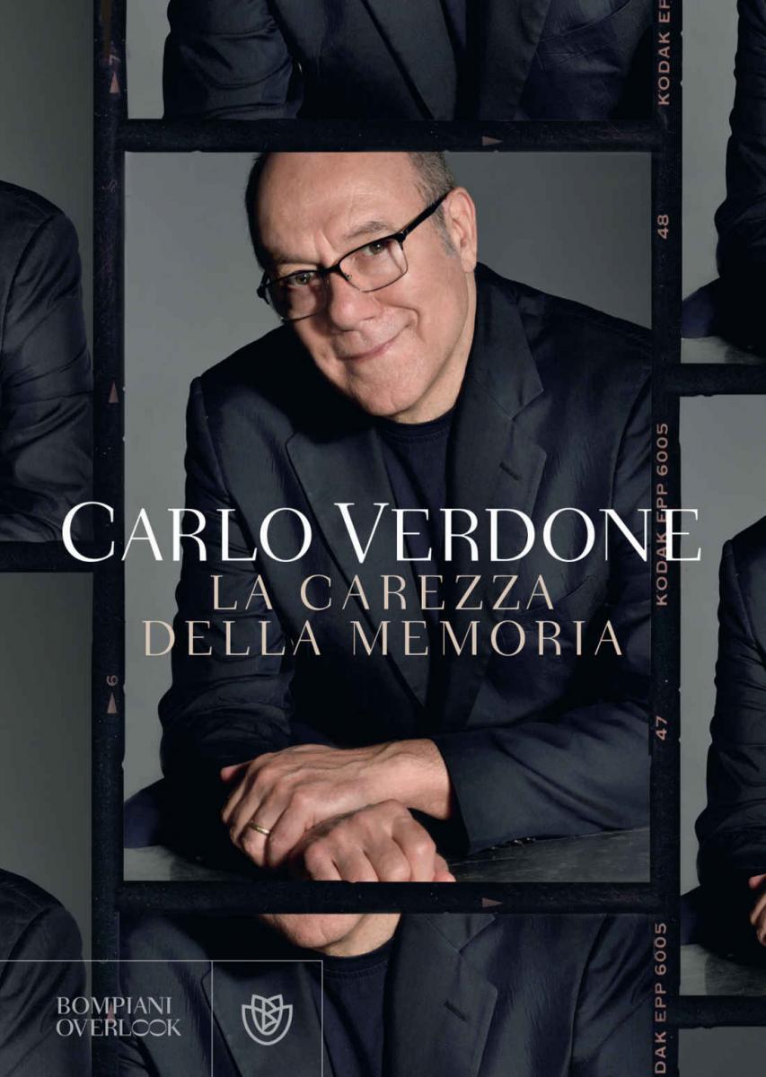 La carezza della memoria cover libro Carlo Verdone