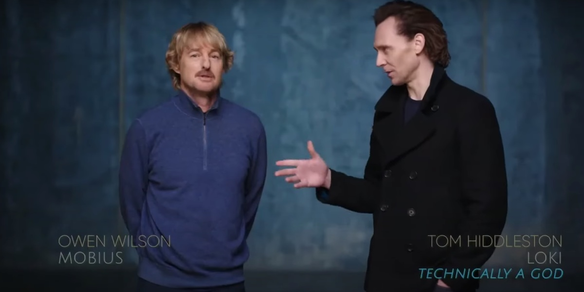 Loki, Tom Hiddleston e Owen Wilson