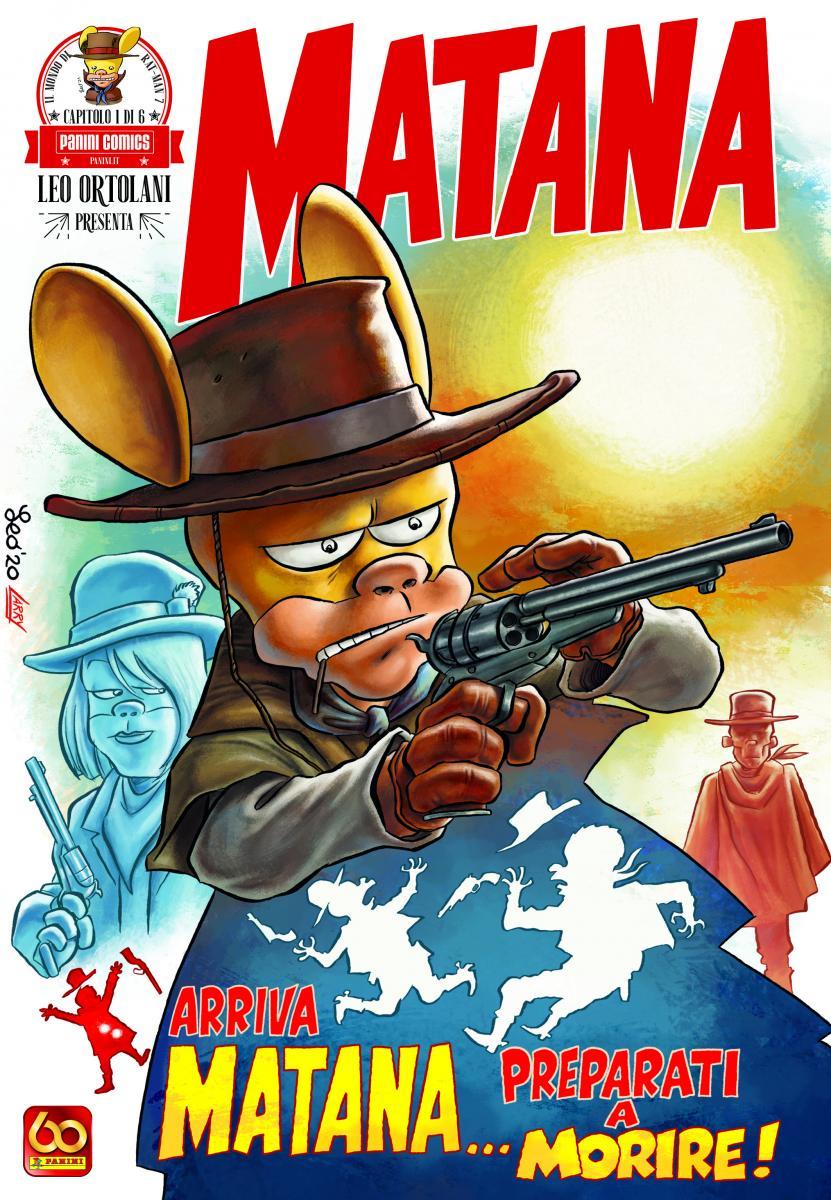 Matana cover fumetto