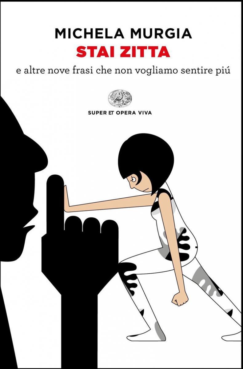 stai zitta cover libro Michela Murgia