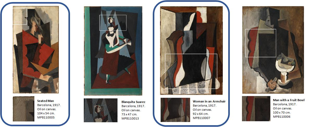 4 opere di Picasso