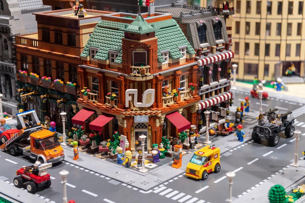 I LOVE LEGO mostra installazione