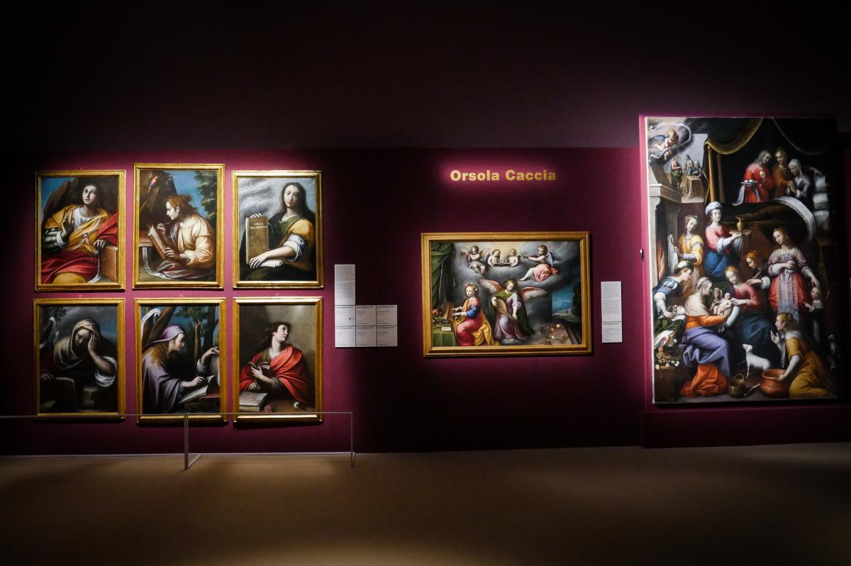 Le Signore dell'Arte quadri in mostra
