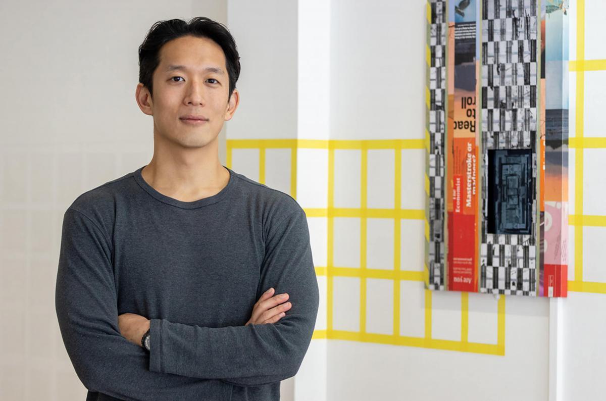 L'uomo-casa dell'artista Joonhong Min Joonhong Min