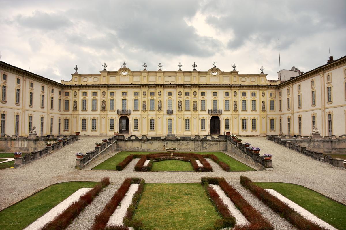 Villa Arconati facciata restauro