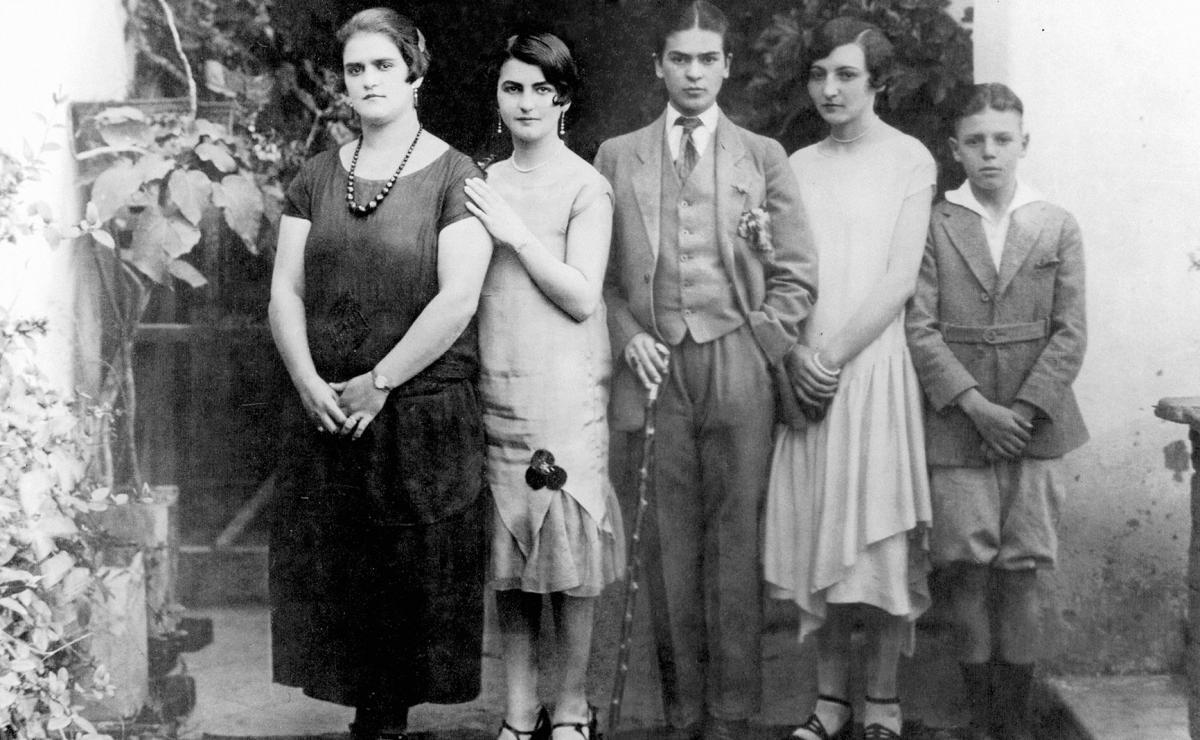 Frida Kahlo ritratto di famiglia