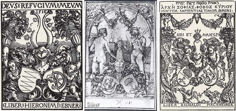 Ex libris Albrecht Dürer