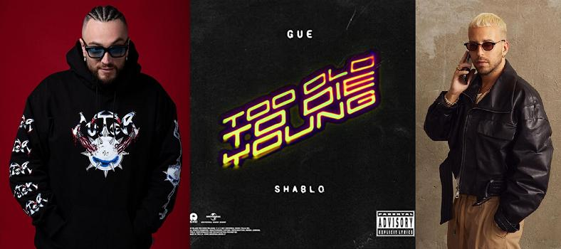 """Gué Pequeno - copertina """"Too Old To Die Young"""" - Shablo"""