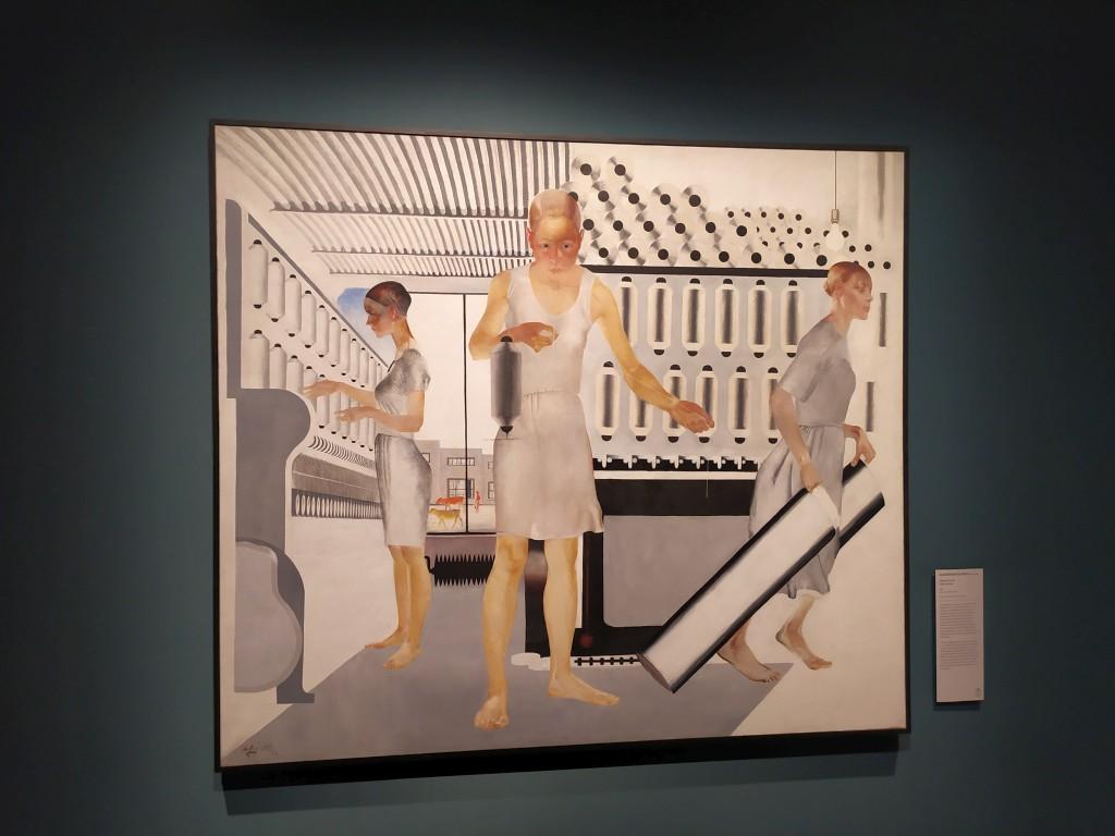 donne artiste, operaie tessili, quadro avanguardia russa