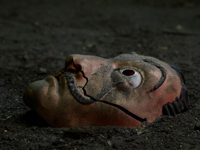 La Casa di Carta Stagione 5 maschera