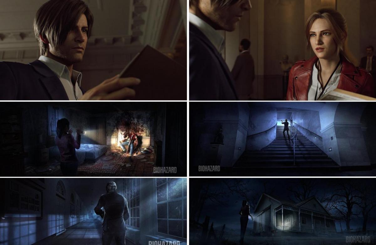 Resident Evil: Infinite Darkness scene