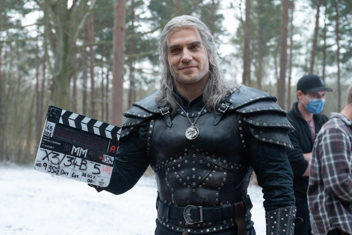The Witcher seconda stagione ciack