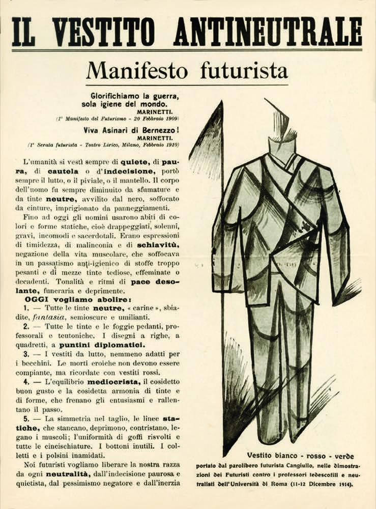 Futuristi e la moda