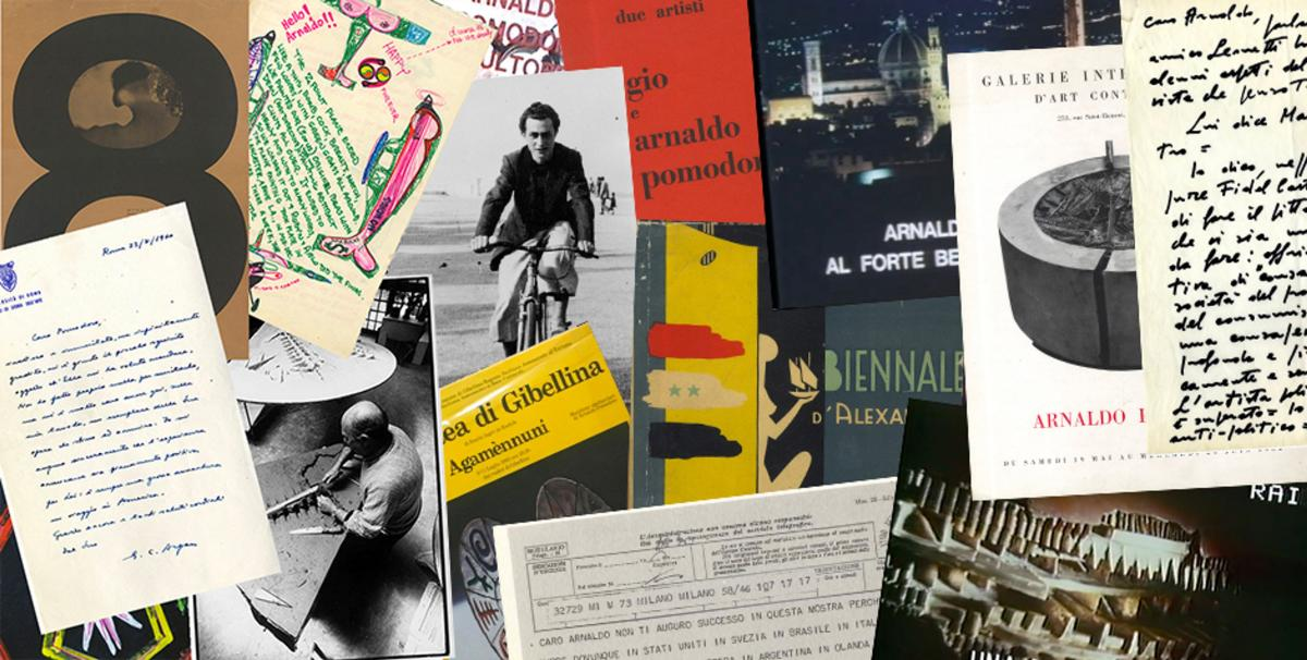 Archivio di Arnaldo Pomodoro