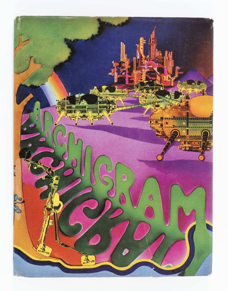 rivista Archigram copertina psichedelica