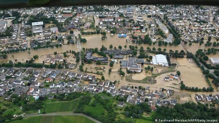 cambiamenti climatici GermanyFlood
