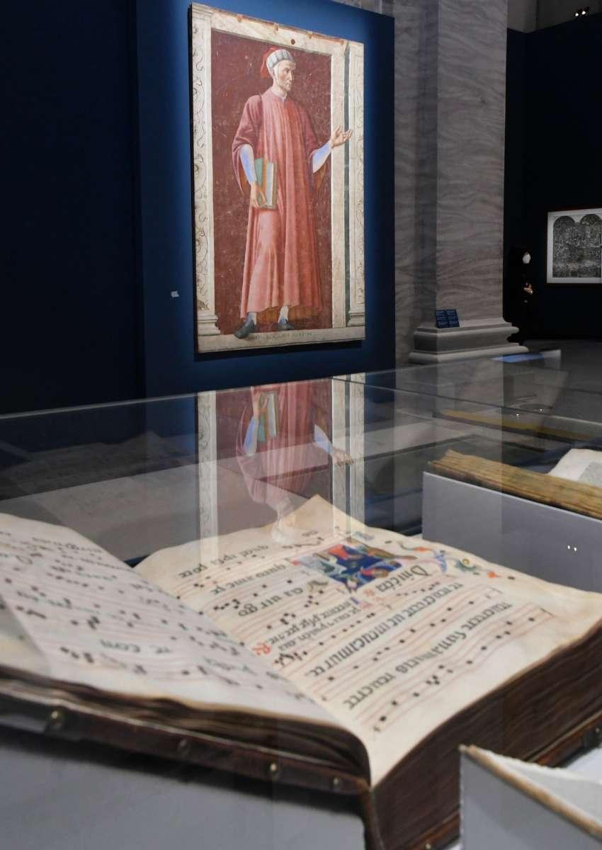 Dante. La visione dell'arte. Manoscritto e quadro