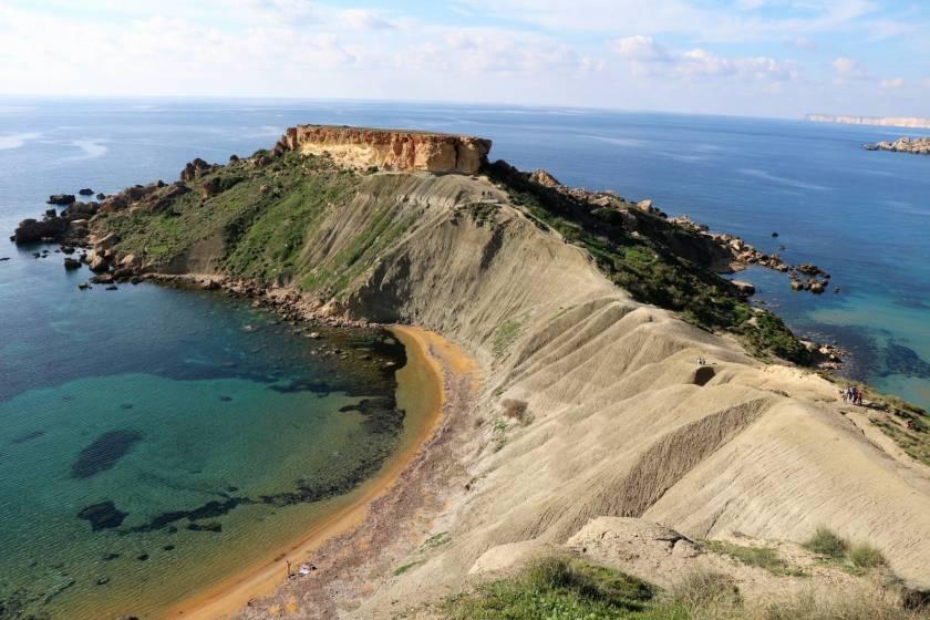 Golden bay, Ghajn Tuffieha e Riviera beach