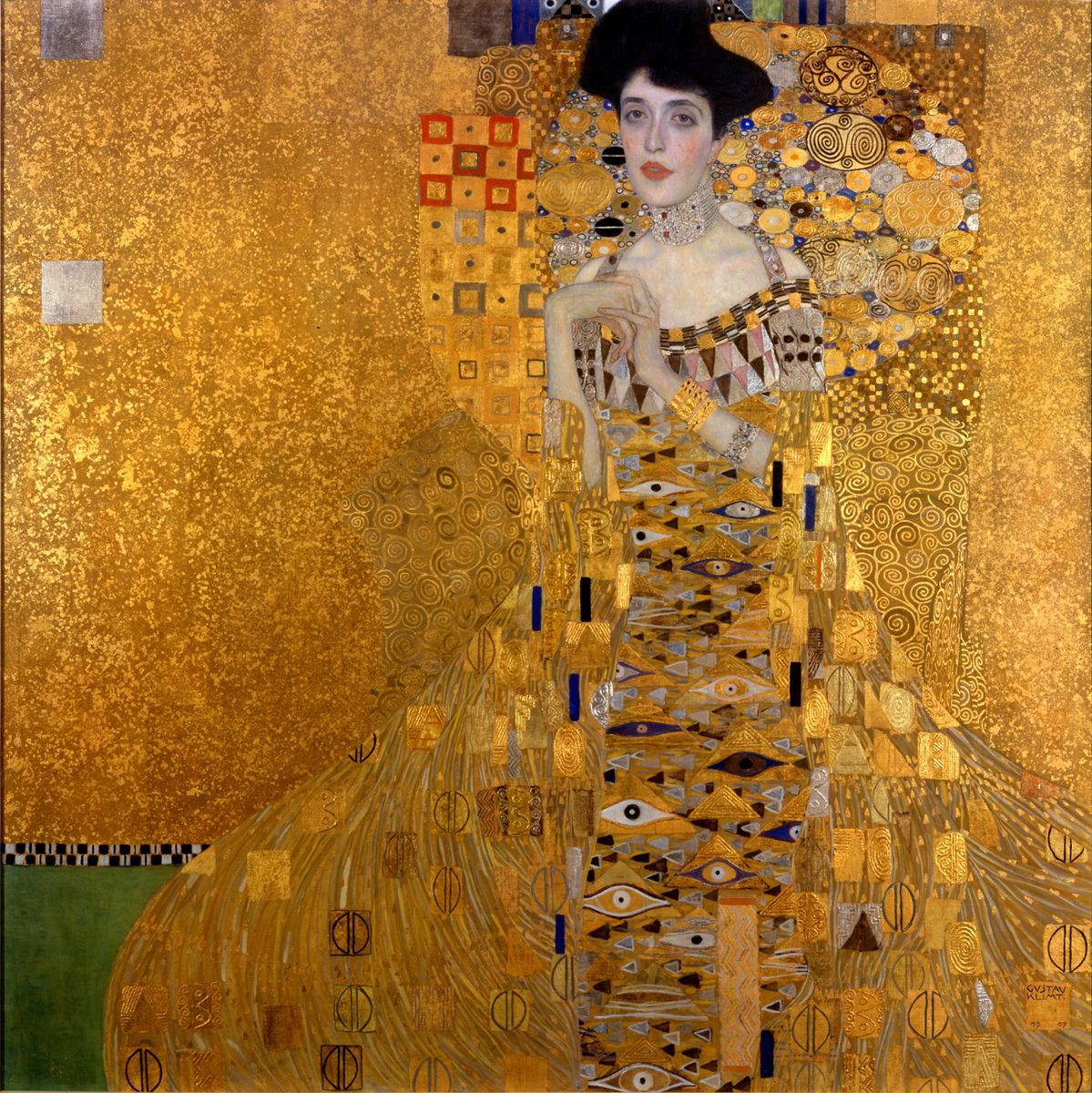 Gustav Klimt Ritratto di Adele Bloch-Bauer I, 1907
