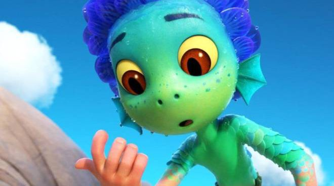 Luca Pixar mostro marino