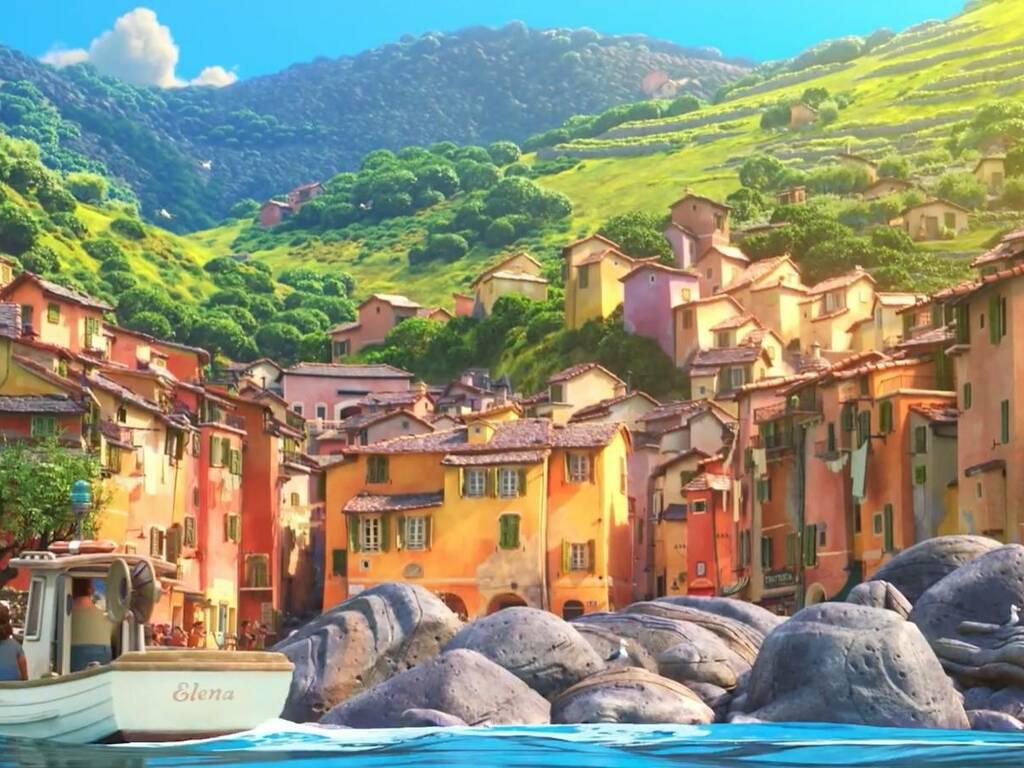Luca Pixar portorosso