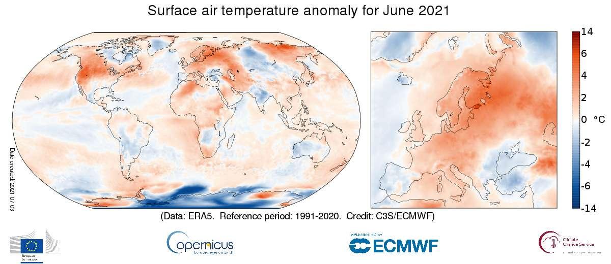 cambiamenti climatici HeatMap