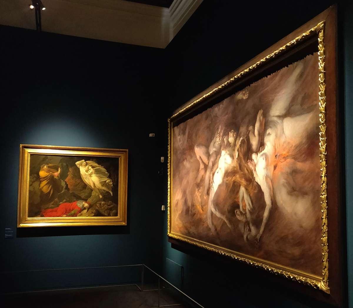 Dante. La visione dell'arte quadri