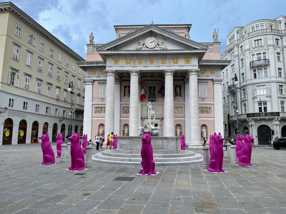 Incanto mostra esterno Trieste