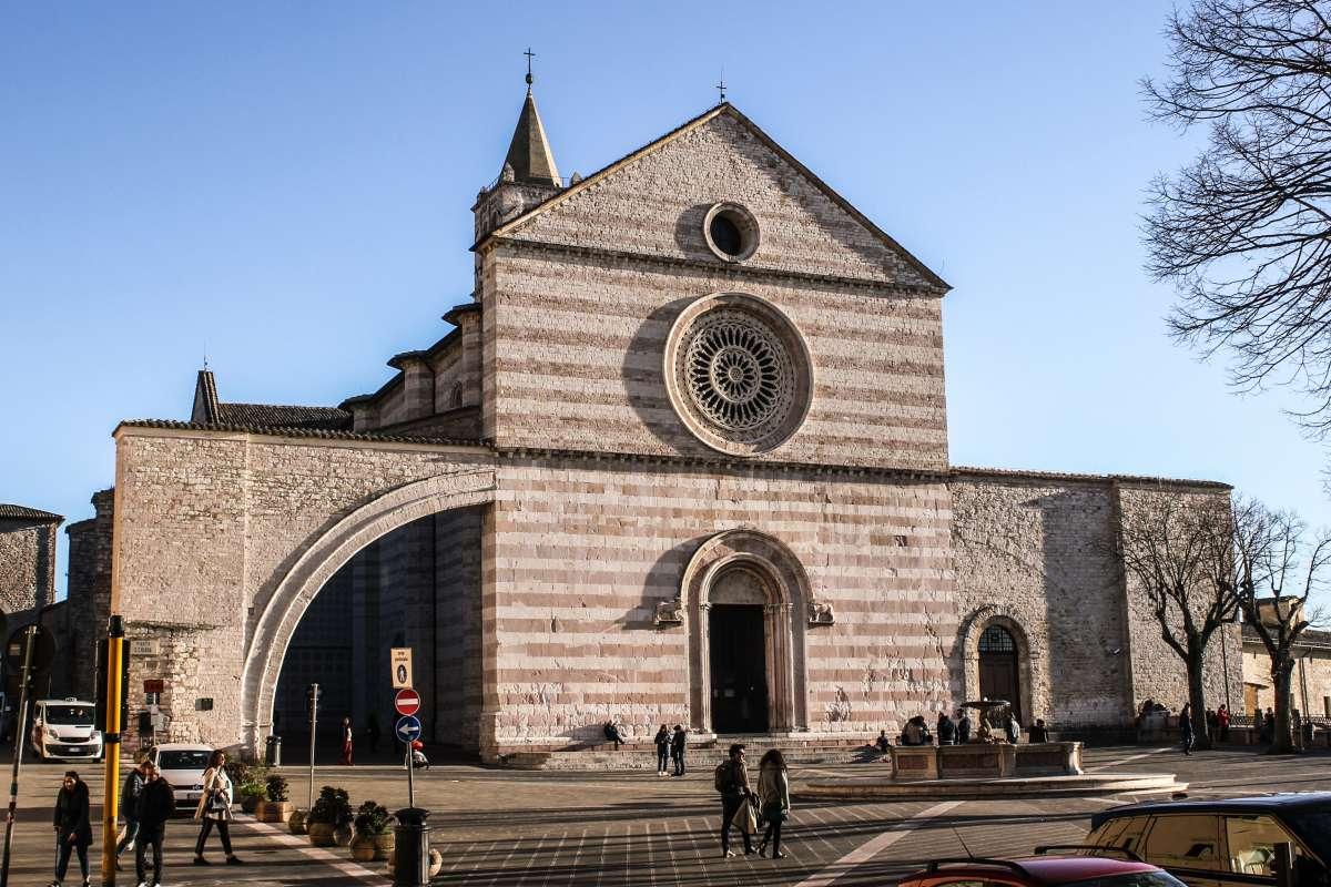 Assisi in un weekend: Chiesa di Santa Chiara