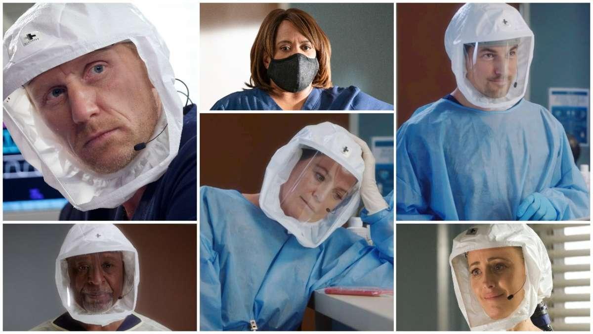Grey's Anatomy stagione 18 covid