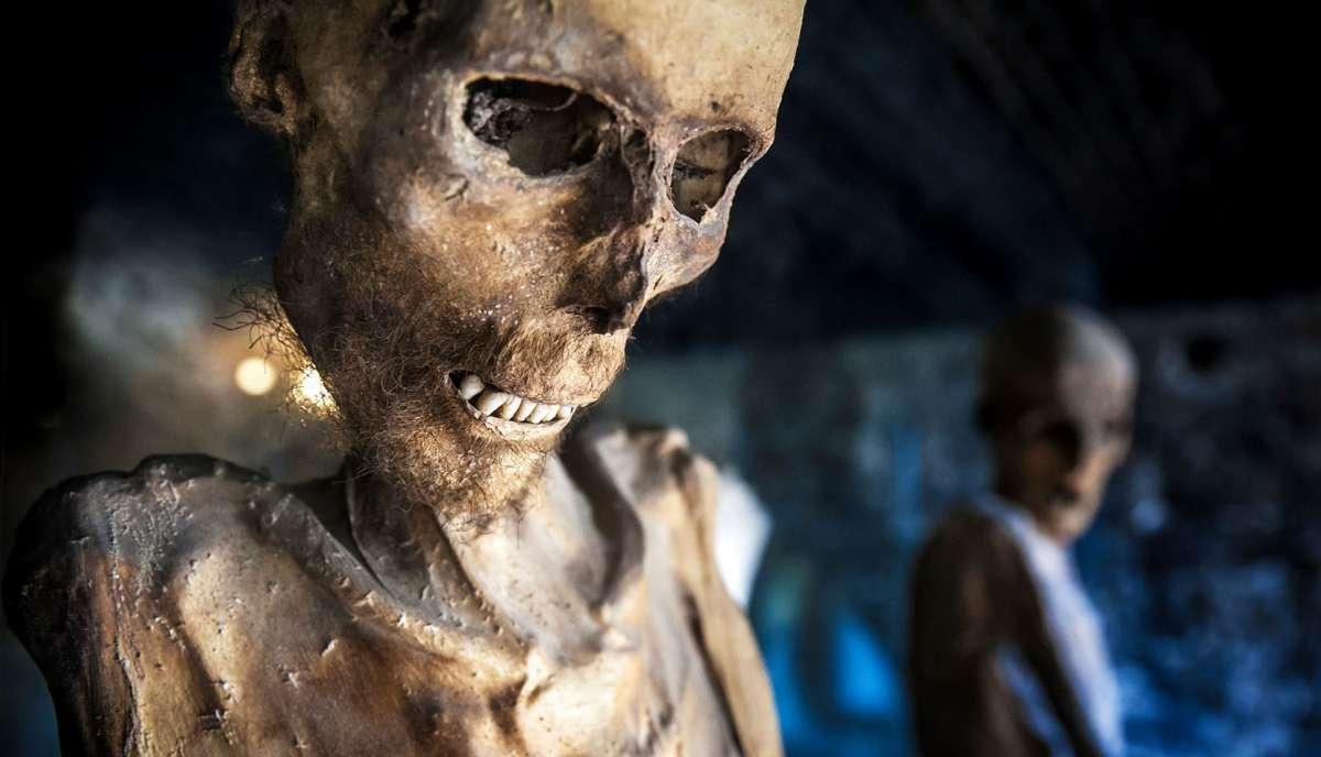 Bellezze nascoste dell'Umbria La cripta delle mummie a Ferentillo