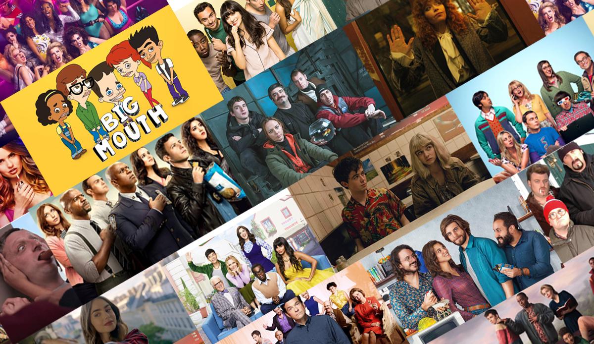 Le migliori serie tv commedie Netflix