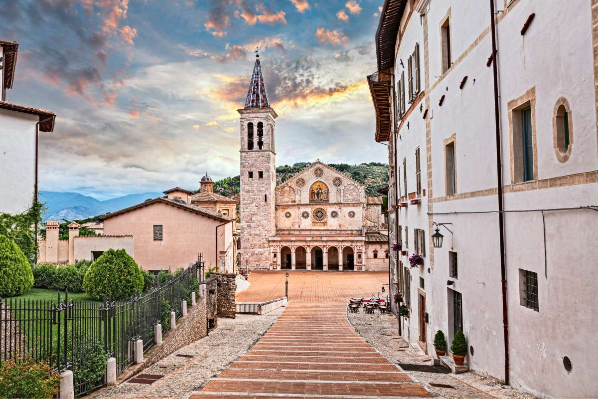 Umbria on the road: Duomo di Spoleto