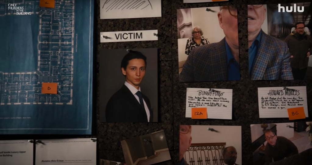 Only murders in the building episodio 4. Fonte: Popsugar