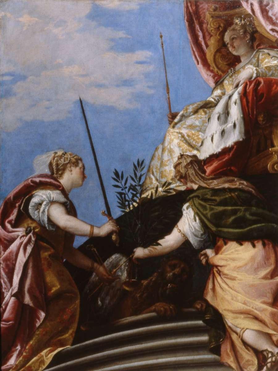 Allegoria della Repubblica Serenissima di Venezia opera di Paolo Veronese