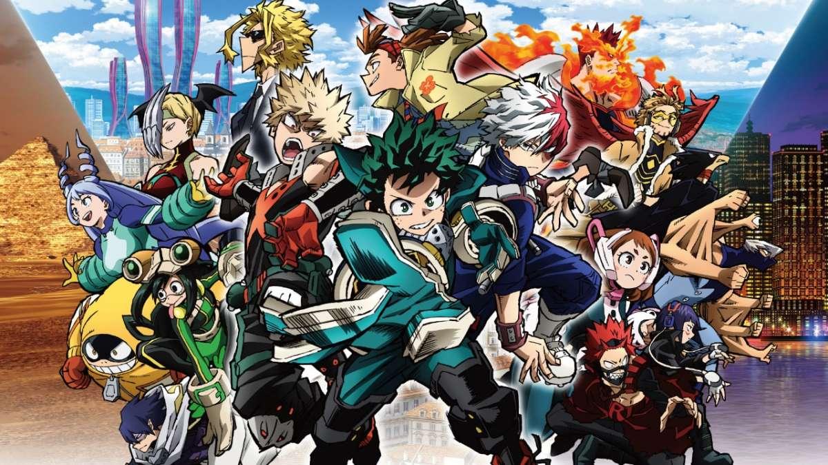 My Hero Academia. The Movie – World Heroes' Mission